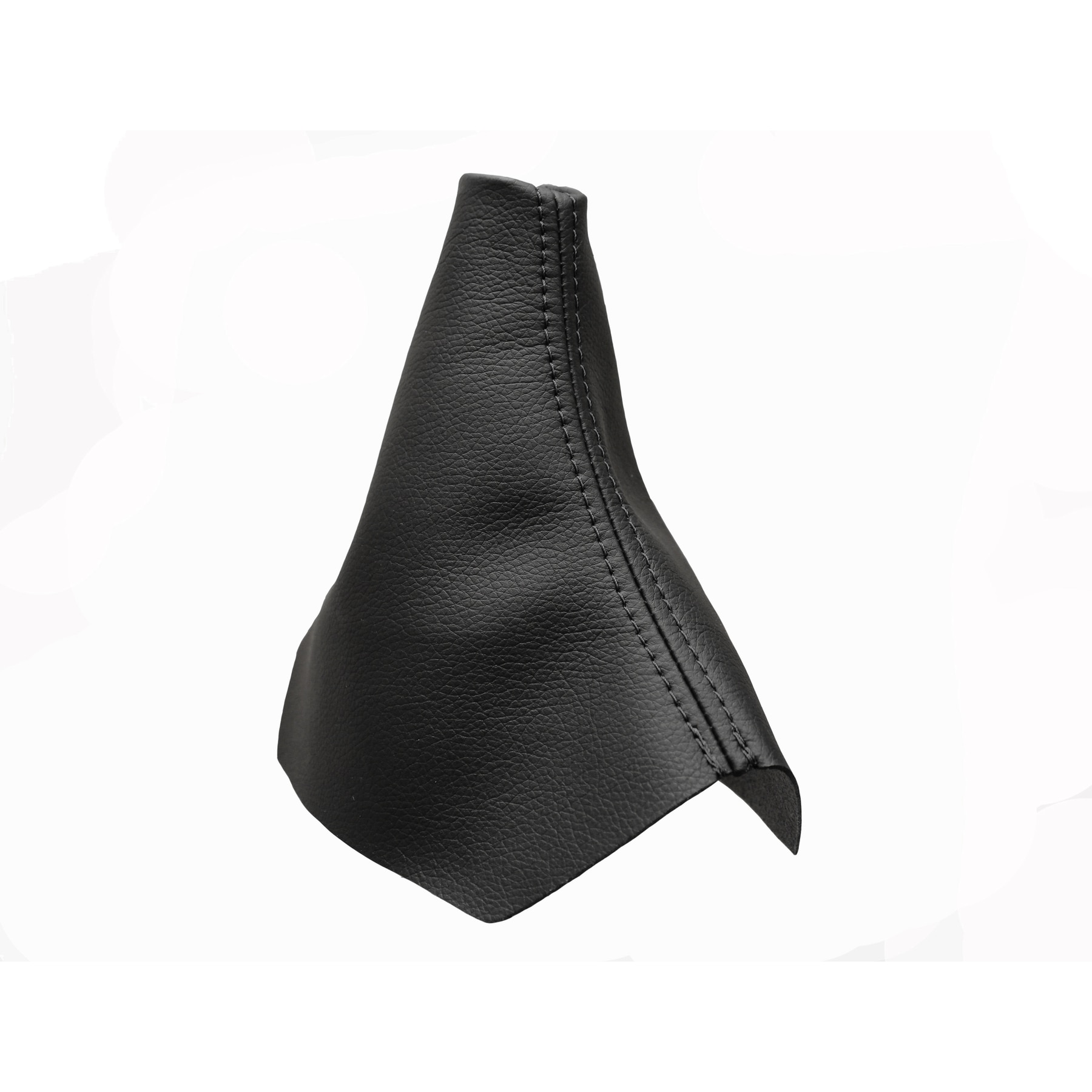 Cargaiter - AudiA4/B7 (2004-2007) Funda Palanca de Cambios Accesorio Compatible con doble Costura en Negro Nuevo