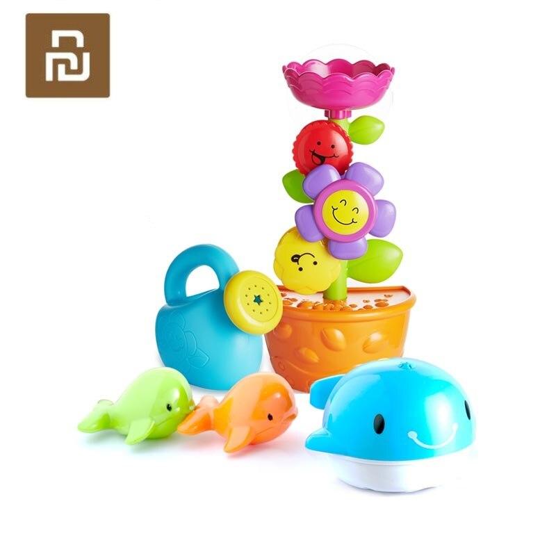 Juguetes originales de baño para bebé Youpin Bravokids, juguetes para la ducha para niños, juguetes de baño para calmar las emociones del bebé, juguetes para niños