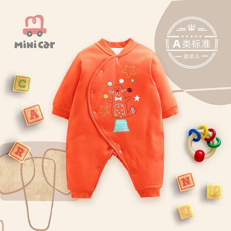 Noworodek body damskie zimowy pajacyk niemowlęcy ciepłe ubrania cienka bawełna z bawełną