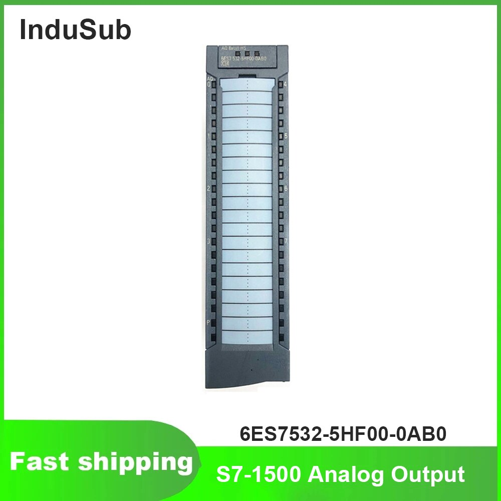 6ES7532-5HF00-0AB0 6ES75325HF000AB0 PLC Simatic S7-1500 التناظرية الناتج وحدة جديدة الأصلي
