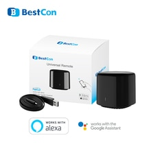 2020 Broadlink RM4 mini Bestcon RM4C mini universel 3G 4G Wifi IR Mini télécommande Compatible Alexa Google Assistant pour A/C
