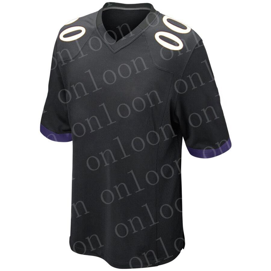 Maillot personnalisé pour hommes maillot de Football américain Baltimore Fans maillots L.JACKSON REED ANDREWS marron TUCKER HUMPHREY maillot