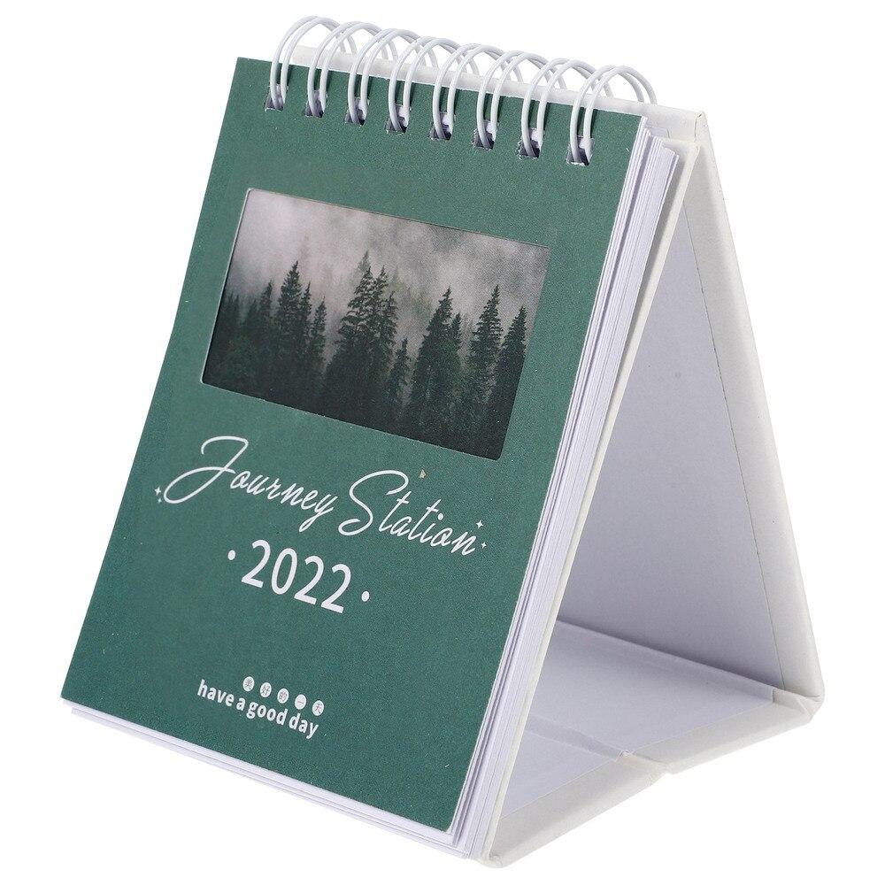 1Pc 2022 Mini Desk Calendar School Home Office Schedule Planner Desk Calendar недорого