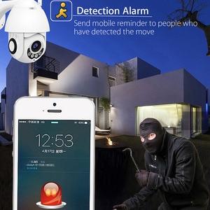 1080P Cloud Storage Wireless PTZ IP Camera Speed Dome CCTV Security Cameras Outdoor ONVIF Two Way Audio P2P Camera WIFI