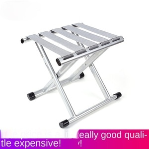 Folding Chair Folding Stool Camp Chair Foldable and Portable Outdoor Fishing Chair Small Bench Household Small Stool