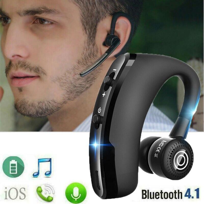 Gran oferta V9 inalámbrico Bluetooth 4,1 auriculares deportivos auriculares manos libres CSR8615
