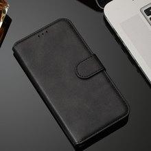 Stand Leather Telefoon Cover Voor Case Redmi Note 8 Pro Note 8T K30 Effen Kleur Flip Wallet Case Fashion mobiele Telefoon Zakken Doos D27D