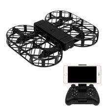 Drone pliable télécommande Dron 2.4G 6 axes gyroscope RC quadrirotor hélicoptère Mode sans tête RC jouets caméra Altitude tenir DRONE