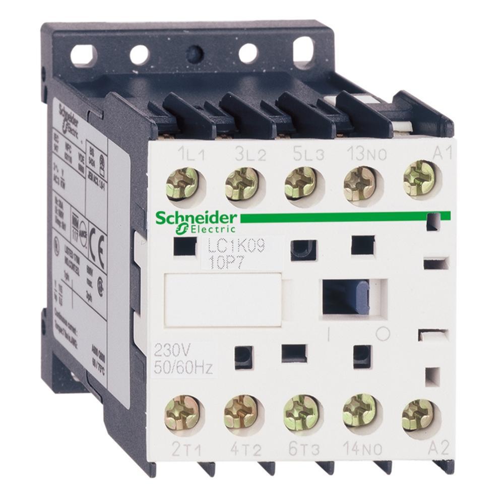 LC1K1210M7 LC7K1210M7 TeSys K контактор-3P-AC-3 <= 440 V 12 A - 1 NO aux. -220...230 V AC катушка