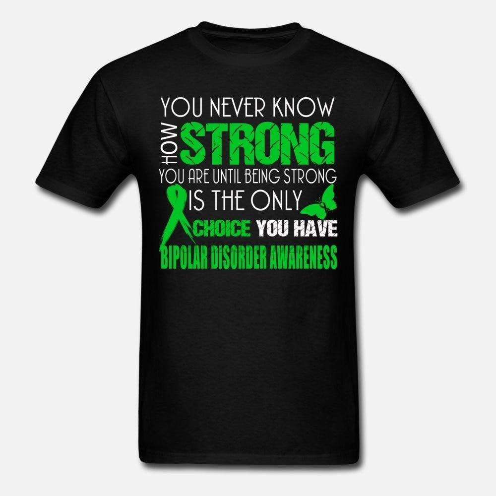 Camiseta para hombre, camiseta para mujer, camiseta para hombres, camiseta para la concientización de trastornos bipolares (1)