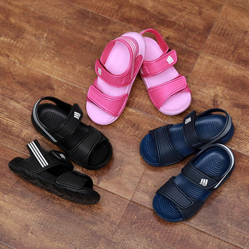 Summer Children fashion boys and girls non-slip beach sandals wear-resistant and multi-color kids shoes comfortable 1-12y KSS04