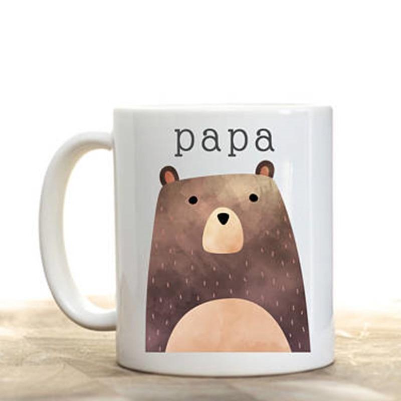 Papa bear mug, Papa bear gift, Papa bear present, Pawpaw mug, Papa bear, Bear coffee mug, Mama bear and Papa Bear,