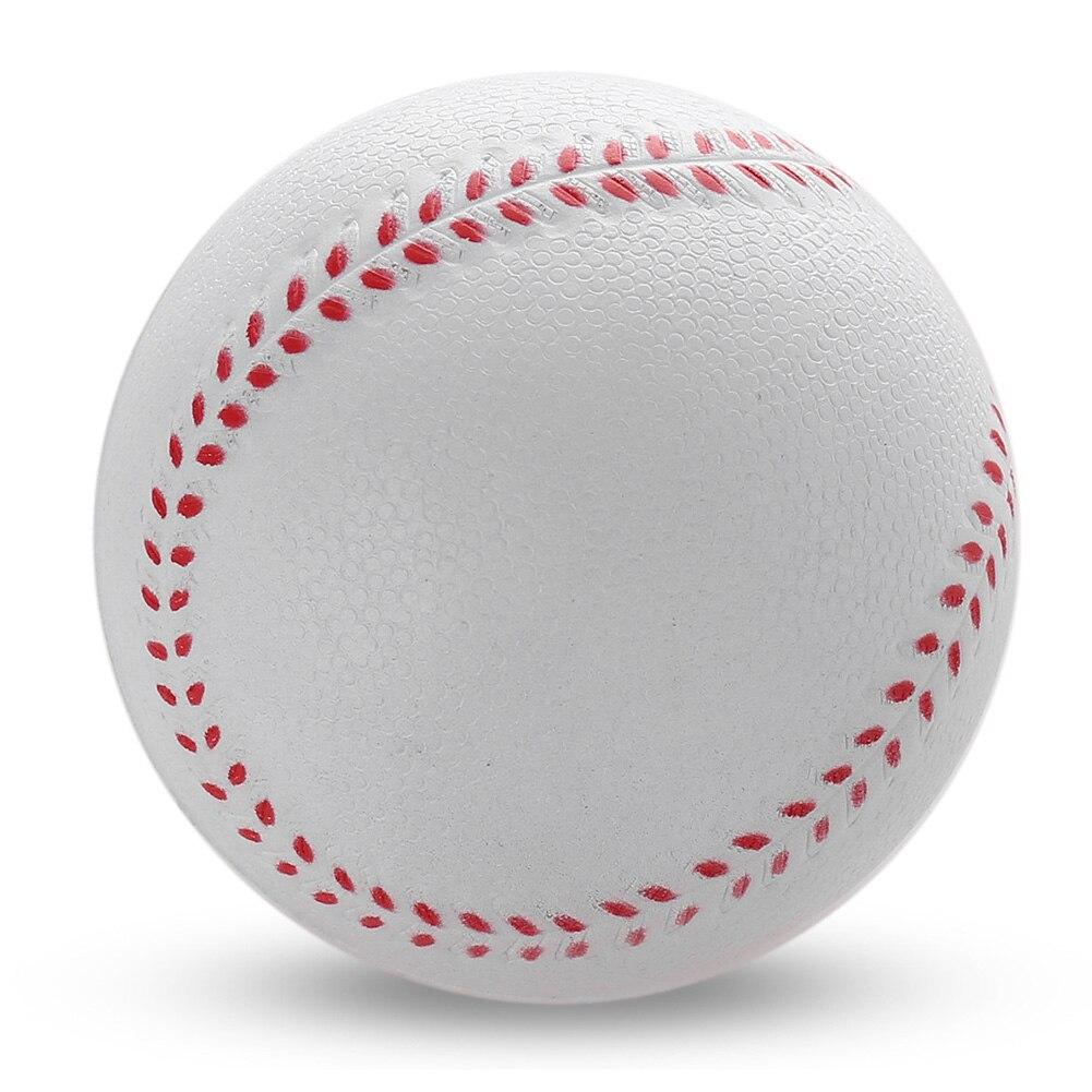 1 шт., мягкая губка для снятия стресса, 6,3 см, для бейсбола в помещении и на открытом воздухе, тренировочный базовый мяч, детский бейсбольный м...