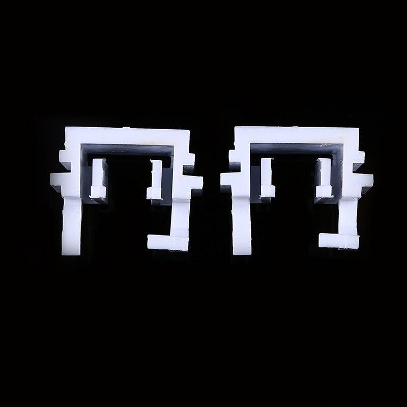 1 paire blanc HID xénon ampoule support de lumière adaptateur pour Focus haut/bas faisceau avec H1/H7 ampoule phare adaptateur support Base
