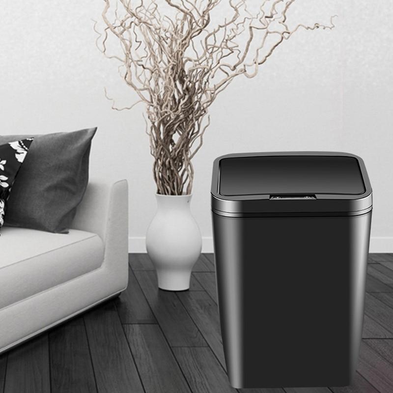 אינטליגנטי אינדוקציה אוטומטי אשפה בית סלון חדר שינה מטבח אמבטיה חשמלי עם כיסוי אילם חכם בית עם סוללה