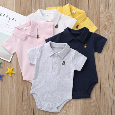Summer baby  candy color wild fashion jumpsuit  baby girl clothes baby boy clothes ropa bebe bodysuit body baby baby romper