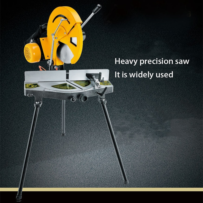 Aluminum sawing machine 10/12/14 inch Aluminum alloy Wood cutting machine 45 degree angle High precision aluminum cutter enlarge