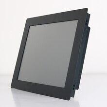 10 15 17 12 pouces écran LCD moniteur décran de tablette VGA USB résistance écran tactile intégré produits de contrôle dinstallation