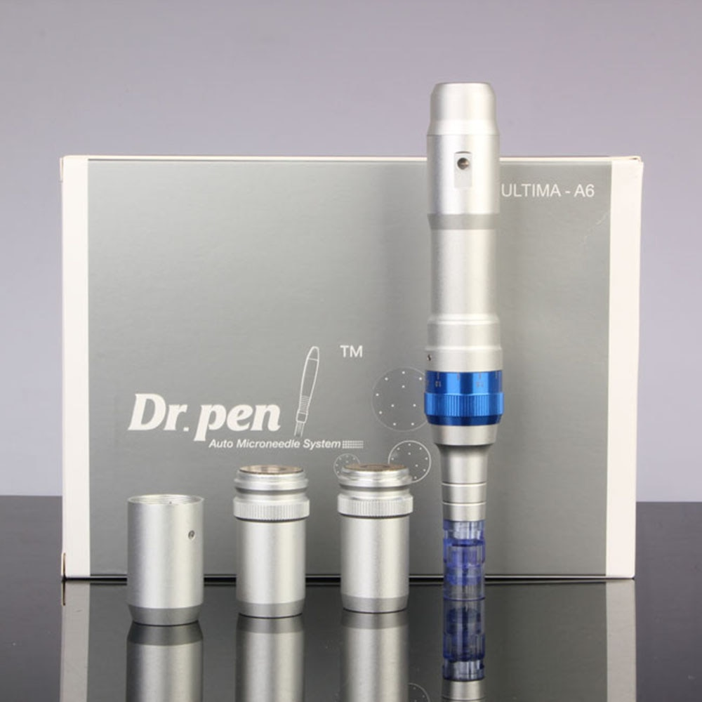 Ultima A6 Professional Rechargeable Electric DrPen A6 Microneedle Dr Derma Pen Micro Needling Machine Cartridge Dermapen A6 Tool