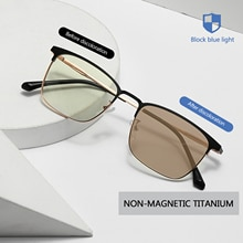 Cat Eye Glasses Ocean Film Anti-blue Light Discoloration Sunglasses Fashion Simple Glasses Men And W