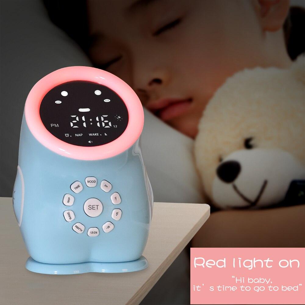 luz noturna colorida de dinossauro despertador e luz de dormir para criancas presente