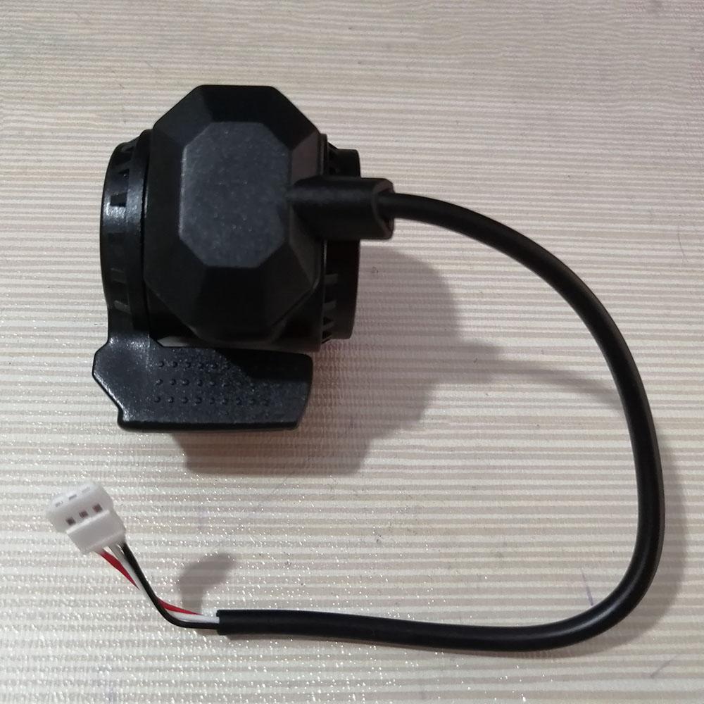 24V 36V składana hulajnoga akcesoria kontroler skutera z włókna węglowego akcelerator hamulca LCD