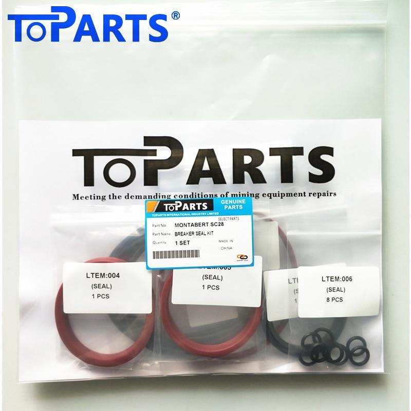 86633070 Montabert SC28 Hydraulic breaker seal kit SC28 Hydraulic breaker Hammer repair kit enlarge