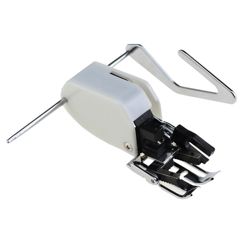Superior mesmo alimentação andando máquina de costura presser pé estofando síncrono presser pé com haste de guia