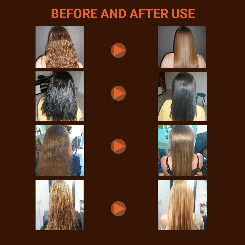 Купить с кэшбэком High Grade Brazilian Keratin Treatment 12% Formalin 1000ml+500ml Purifying Shampoo++300ml Daily Shampoo And Conditioner
