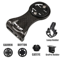 Углеродное крепление Garmin Bryton Cateye для переднего велосипедного руля компьютера с держателем лампы Gropro, велосипедные аксессуары