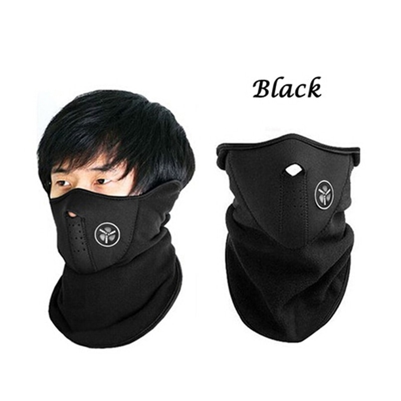 Unisex Motorcycle Warm Mask Neck Warm Snowboard Bike Riding Mask Scarf Accessories Windproof Outdoor Sports Ski Cycling Bicycle jaisati outdoor riding equipment mask dustproof and windproof sports bicycle masks