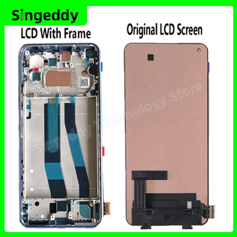 For Xiaomi Mi 11 Lite M2101K9AG LCD Display Touch Screen Digitizer Assembly Replacement Parts With Repair Tools 6.55'' 1080x2400 enlarge