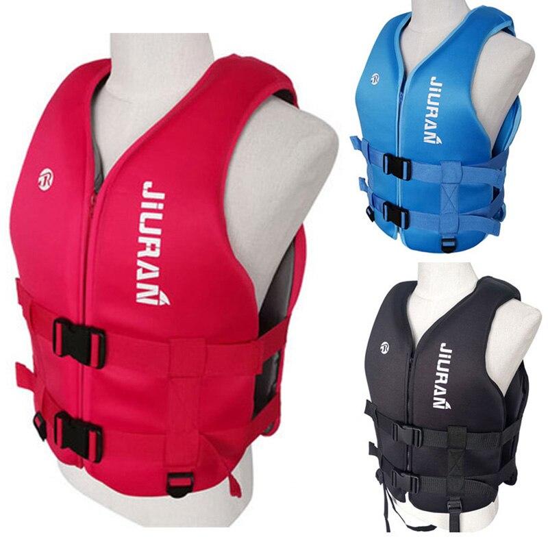 AliExpress - Neoprene Life Jacket Adult Kids Life Vest Water Sports Fishing Vest Kayaking Boating Swimming Surfing Drifting Safety Life Vest