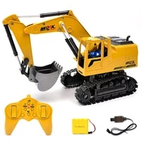 original remote control alloy remote control remote control robot children multifunctional childrens toy model excavator