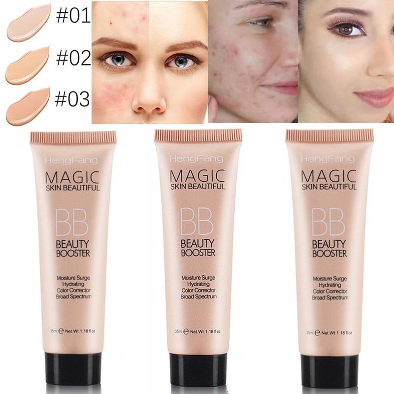 2019 Горячая магия BB крем продолжительного действия для осветления лица база основа Водонепроницаемый увлажняющий консилер отбеливающий макияж TSLM2