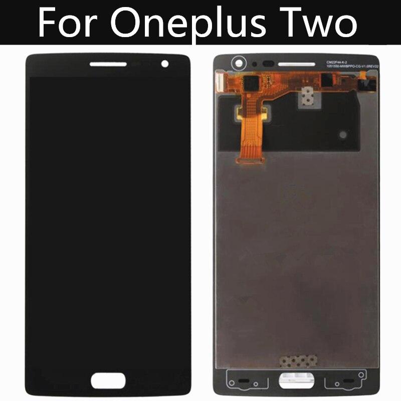 """5.5 """"lcd para oneplus dois 2 a2001 display lcd de tela toque digitador assembléia substituição para oneplus 2 lcd"""
