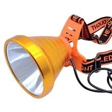 Headlight Outdoor Led Rechargeable Lithium Battery Head Lamp Flashlight Night Hunting Split Headlight MinerS Lamp Us Plug
