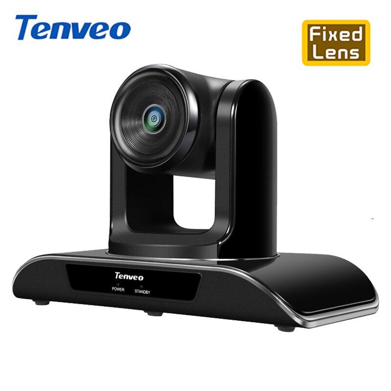 [Stock en España] Tenveo VHD1080 Pro 8MP cámara fija Full HD 1080 P PTZ cámara USB Conferencia cámara Pan Tilt Zoom 138 ° enfoque fijo