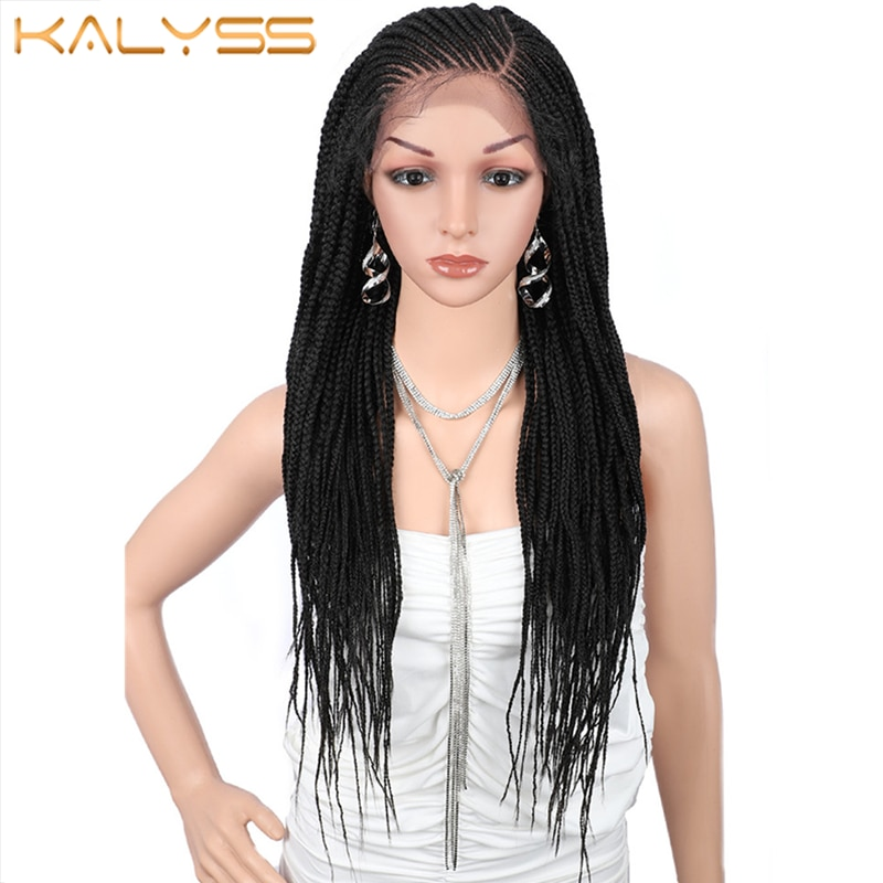 Kalyss 31 Inches Synthetic Wig 13x6