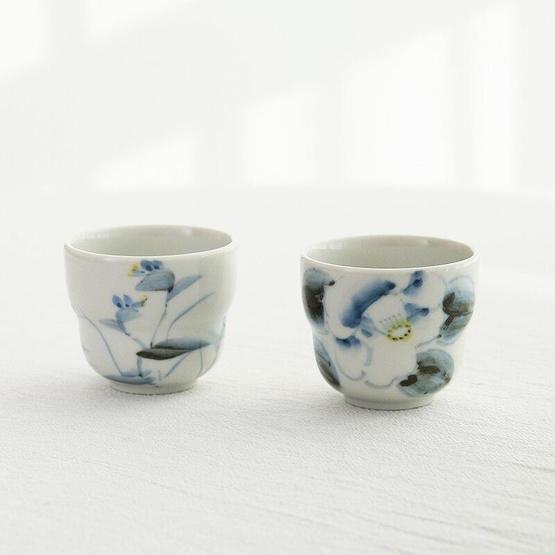 وادي حرق صبغ اليد المستوردة من اليابان لدفع فائدة مزدوجة على كوب صغير كوب دليل عينة فنجان شاي كؤوس مشروبات