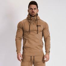 Muscle doc frères transfrontalier populaire sweat à capuche avec logo hommes à capuche fitness exercice à capuche fabricant de vêtement vente directe
