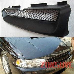 Use For Subaru Legacy 1995--1999 Year Carbon Fibre Refitt Front Center Racing Grille Cover Accessorie Body Kit Zonsuve
