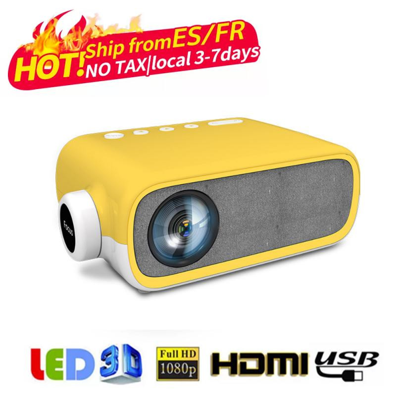 Nuevo LED para Proyector Android 10,0 WIFI Full HD 720P 300 pulgadas...