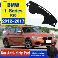 for bmw 1 series f20 20122017 anti slip anti uv mat dashboard cover pad dashmat protect carpet accessories 116i 118i 120i 125i