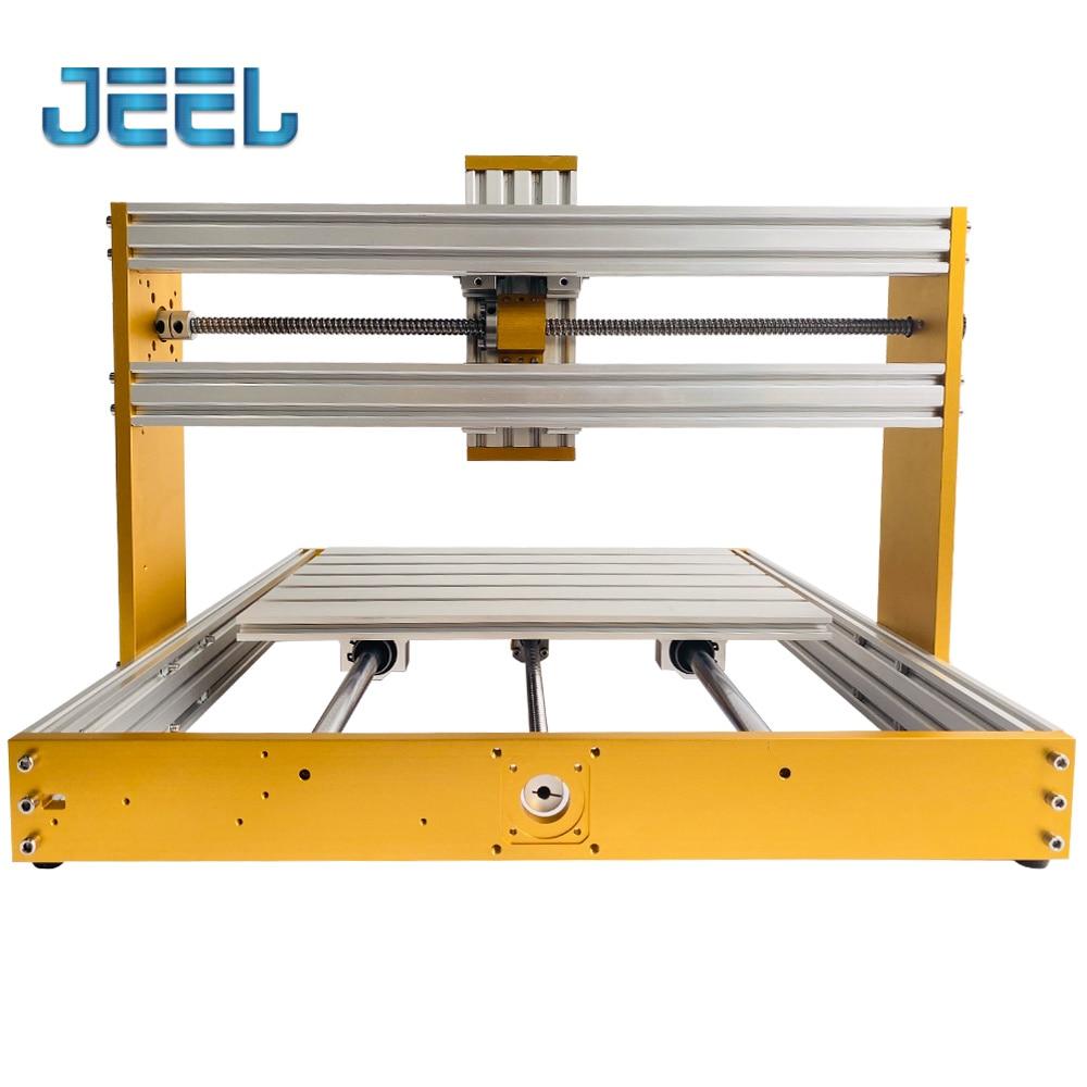 New CNC 3040 All Metal Frame Kit 300*400*120mm Stroke 30*18Plus Upgrade Apply Nema17 Stepper Spindle Hole Diameter 52mm enlarge