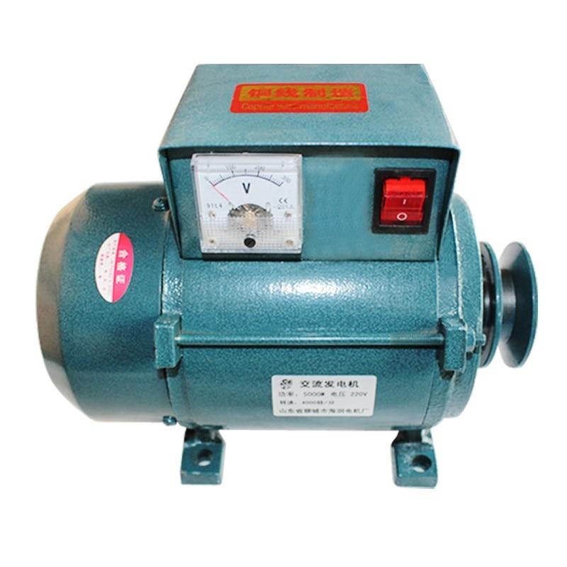 220 فولت عالية الطاقة 1000 واط/18000 واط/2200 واط بكرة صغيرة نوع المغناطيس الدائم مولد الإضاءة