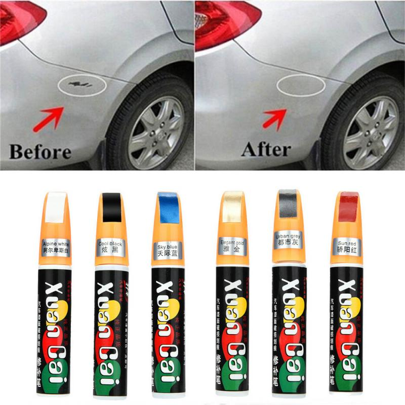 1pc Car Mending Fill Paint Pen Tool Universal Applicator Waterproof Touch Up Car Paint Repair Coat Painting Scratch Clear Remove