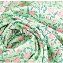 South Korea imported plain cotton fabric, digital printing handmade DIY patchwork clothing dress bab