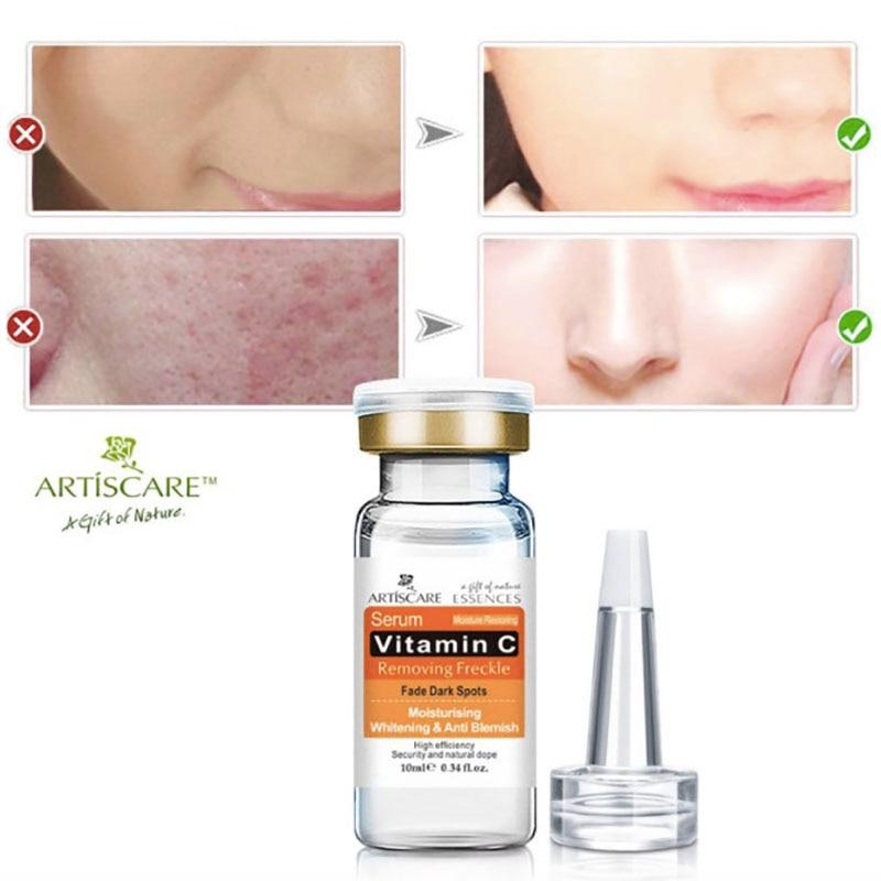 Suero de vitamina c, crema facial hidratante removedor de espinas, crema blanqueadora, clareador para la piel