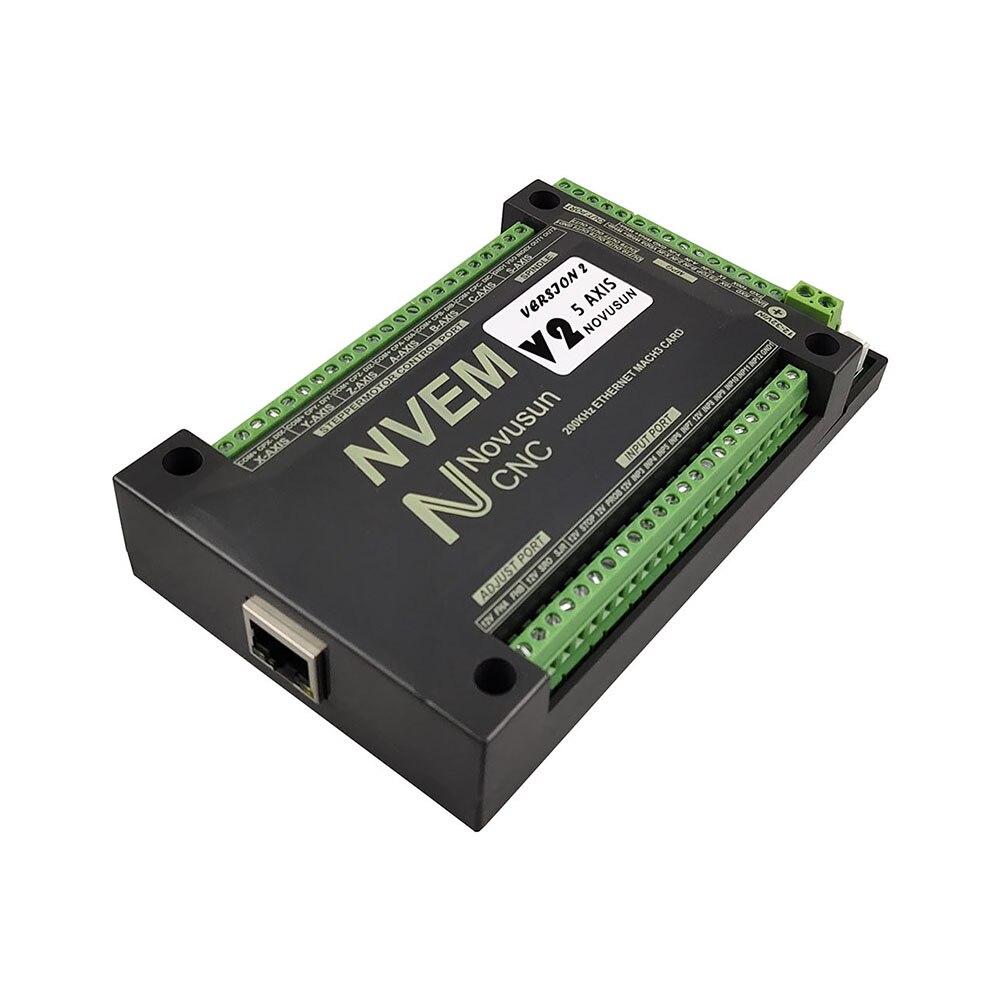 Mach3 NVEMV2.1 Motion Control Card 200kHz CNC Kit Engraving Machine Motor Controller 3 4 5 6 Shaft and electronic handwheel. enlarge